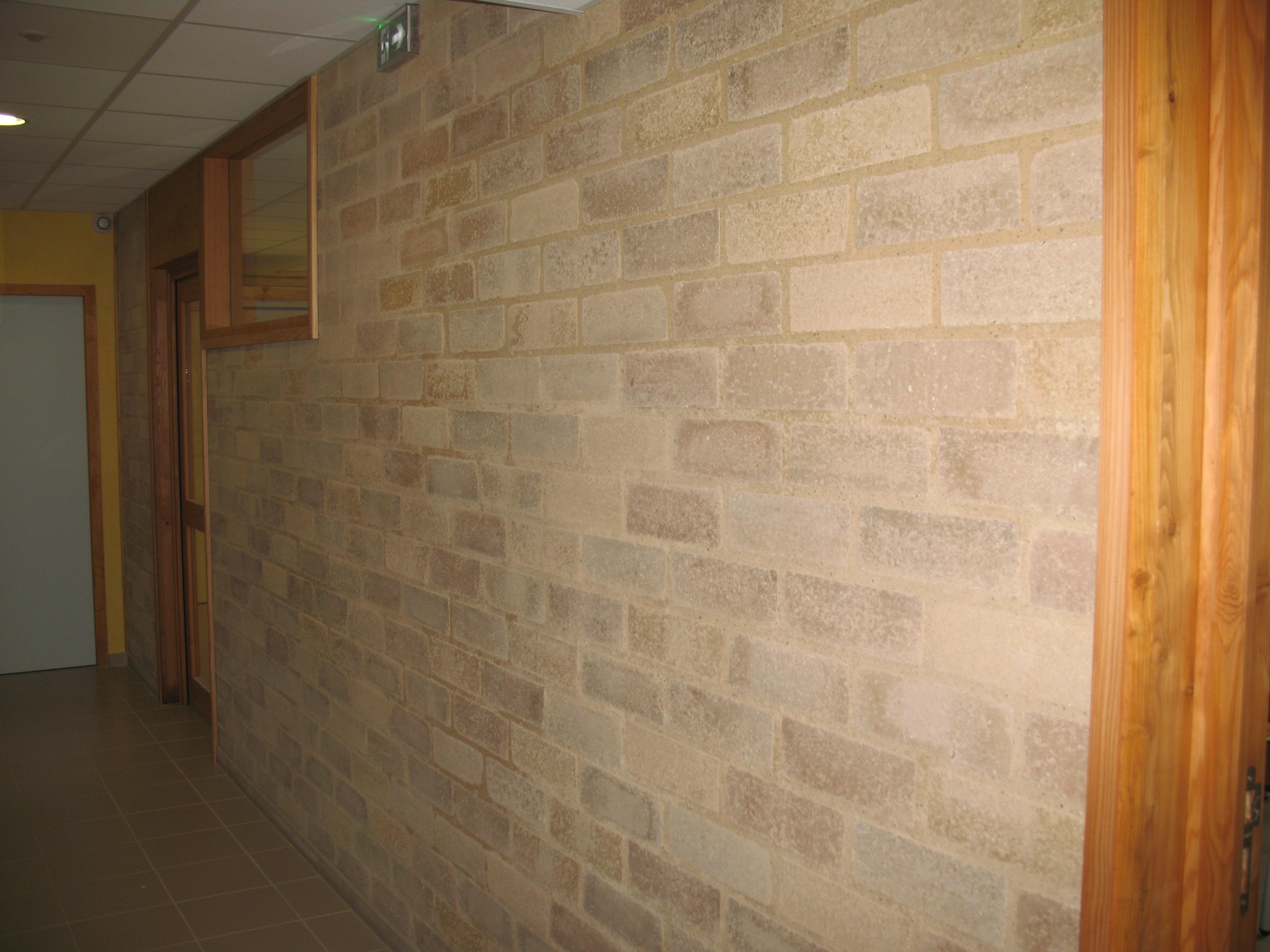 Faire Un Mur De Brique Intérieur briques de terre crue