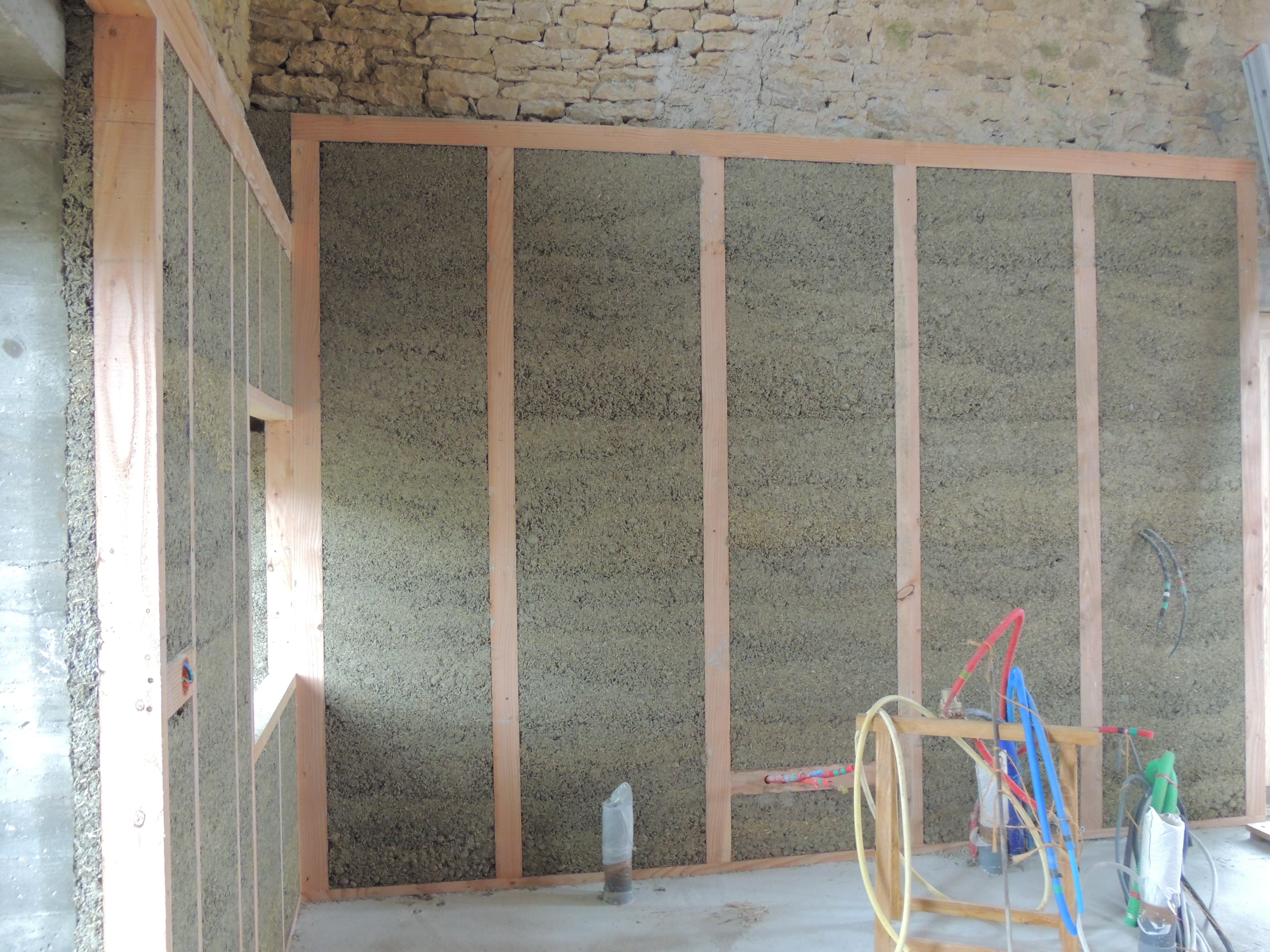 Construction chaux chanvre - Temps de sechage dalle beton pour marcher dessus ...
