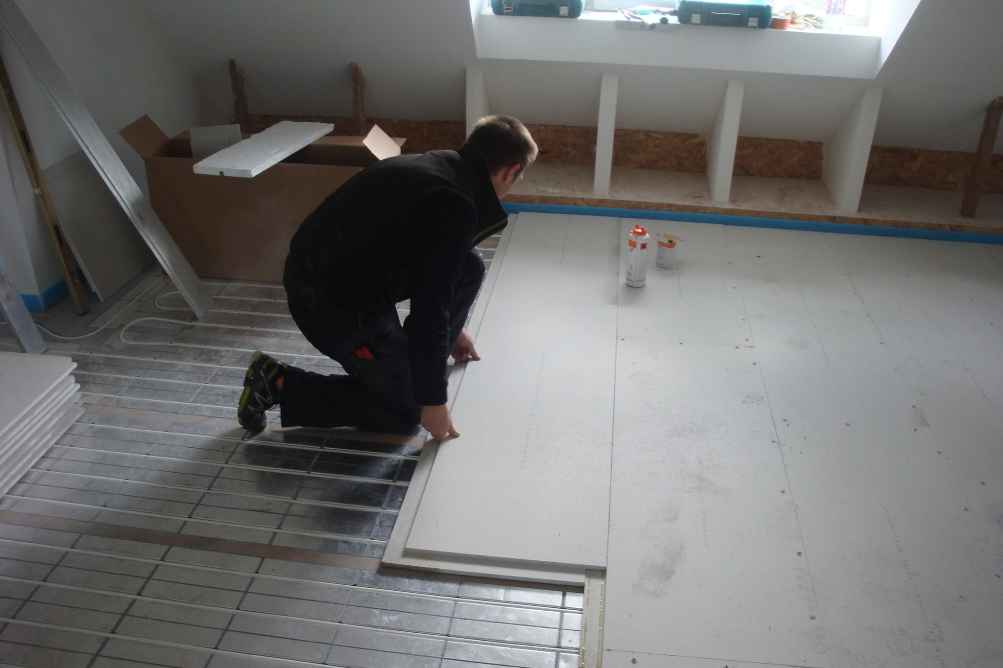 mur chauffant fermacell plancher chauffant mince caleosol tradi xps with mur chauffant. Black Bedroom Furniture Sets. Home Design Ideas